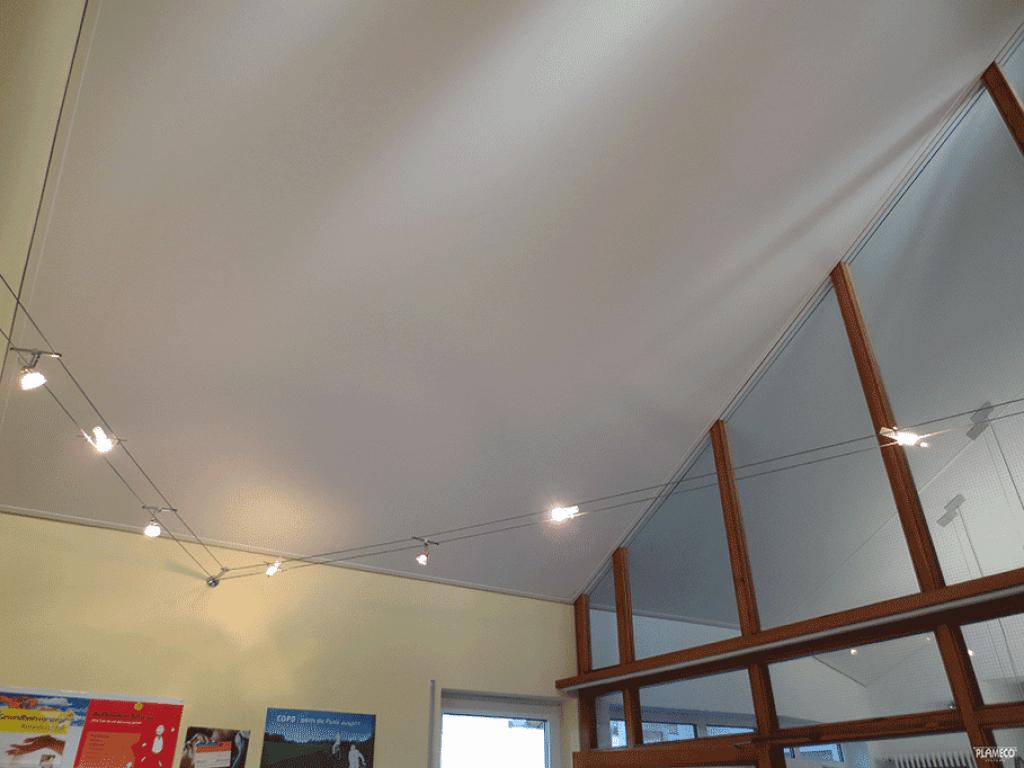 nieuw plafond � mdf lakken hoogglans