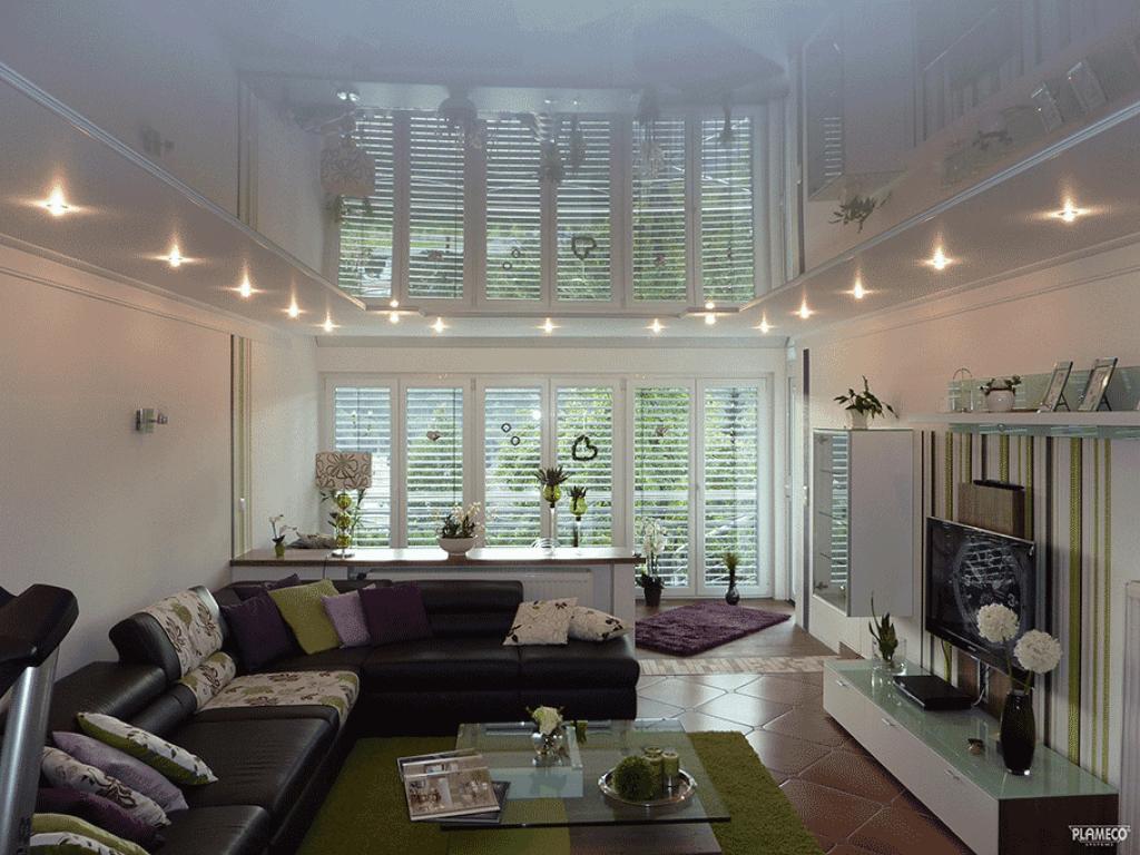 Woonkamer plafonds een nieuw plafond in de woonkamer for Woonkamer