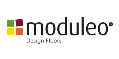 Moduleo PVC vloer logo - showroom Limburg